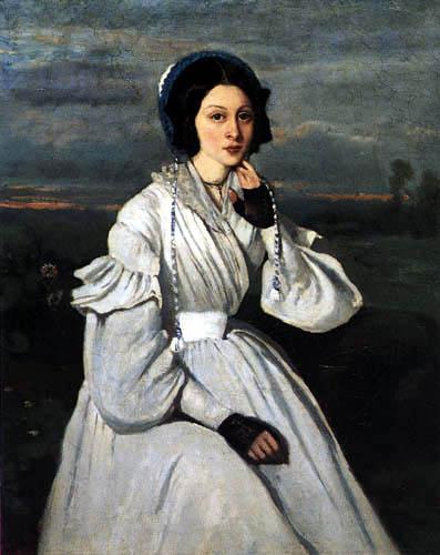 Jean-Baptiste Corot - Claire Sennegon, après Mme. Charmois
