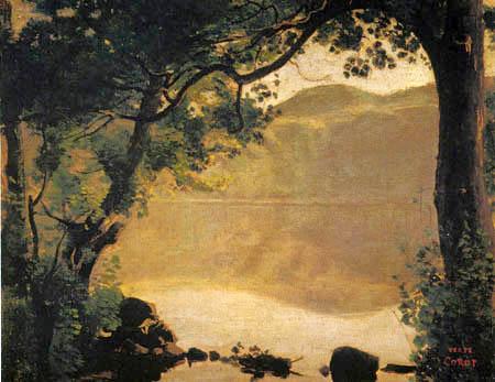 Jean-Baptiste Corot - Der Nemisee