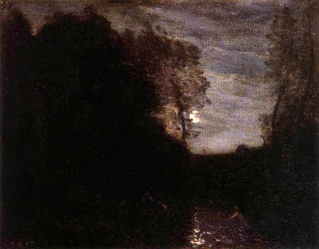 Jean-Baptiste Corot - Clair de lune
