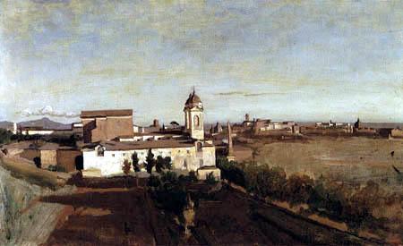 Jean-Baptiste Corot - La Trinità ai Monti