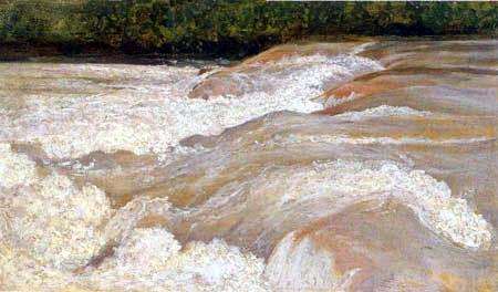 Jean-Baptiste Corot - Le velino, Lake Papigno