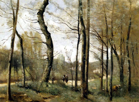 Jean-Baptiste Corot - Printemps à Mantes