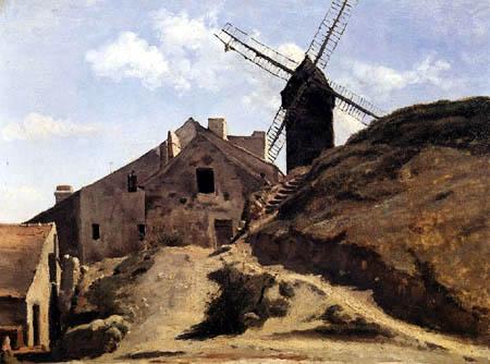 Jean-Baptiste Corot - Moulin de la Galette, Montmartre