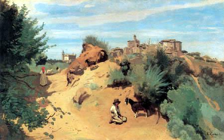 Jean-Baptiste Corot - Genzano