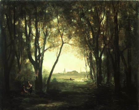 Jean-Baptiste Corot - Der Teich