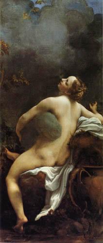 Antonio Allegri Correggio - Jupiter und Io