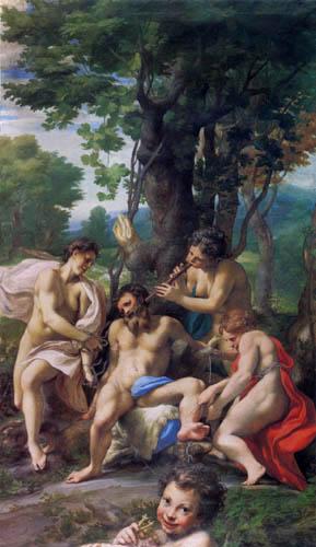 Antonio Allegri Correggio - Allegorie der Laster