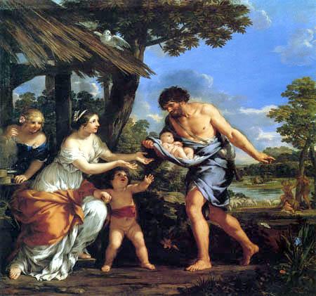 Pietro da Cortona - Romulus und Remus