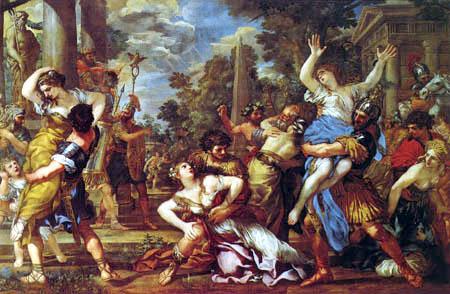 Pietro da Cortona - Rape of the Sabine Women
