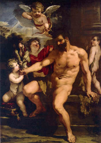 Pietro da Cortona - Punishment of Hercules