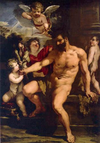 Pietro da Cortona - La punition d'Hercule
