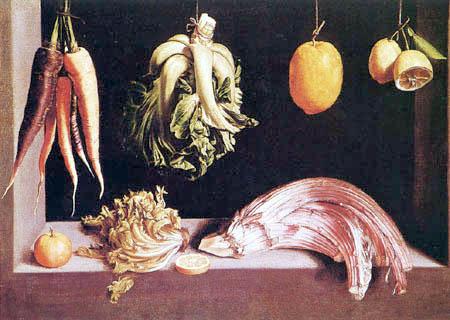 Juan Sánchez Cotán - Stillleben mit Obst und Gemüse