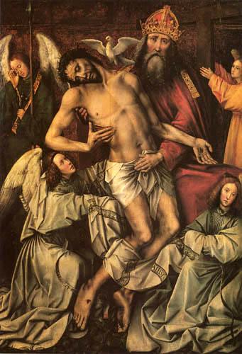 Colijn de Coter - Throne of grace - Altar