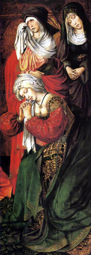 Colijn de Coter - The three grieving Mary´s