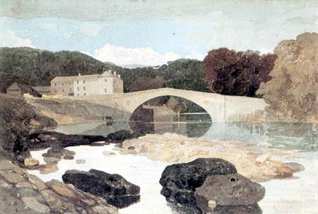 John Sell Cotman - Greta Bridge in Yorkshire