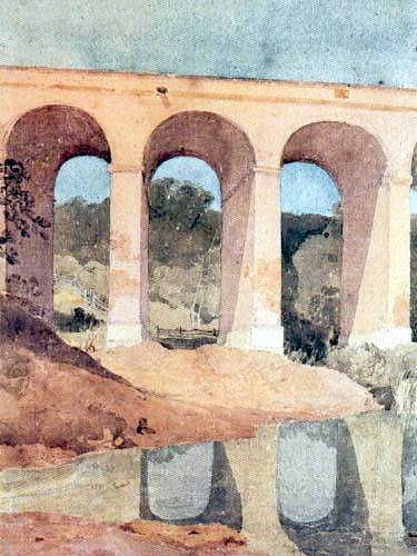 John Sell Cotman - Chirk Aqueduct