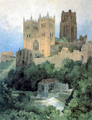 John Sell Cotman - Durham Cathedral