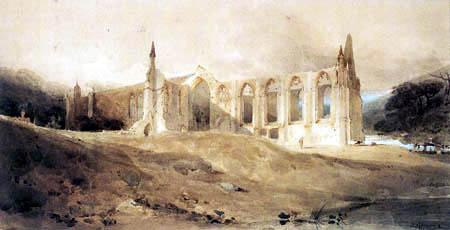 John Sell Cotman - Bolton Abbey