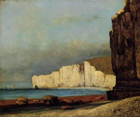 Gustave Courbet - Coastal landscape