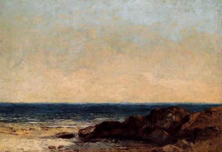 Gustave Courbet - La Méditerranée