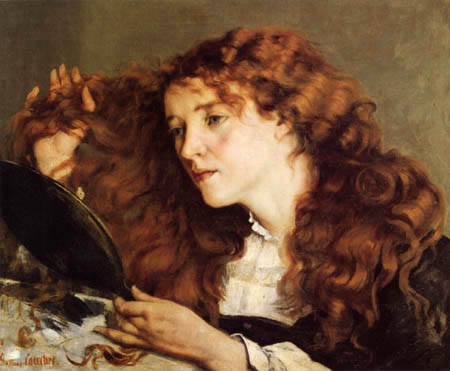 Gustave Courbet - The beautiful Irishwoman
