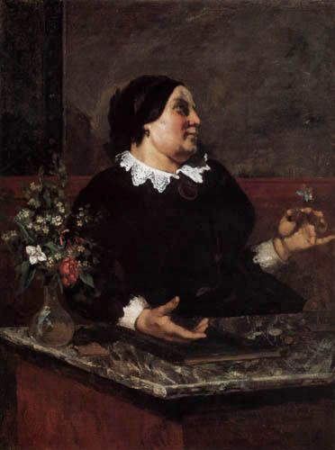 Gustave Courbet - Madame Mere Gregoire