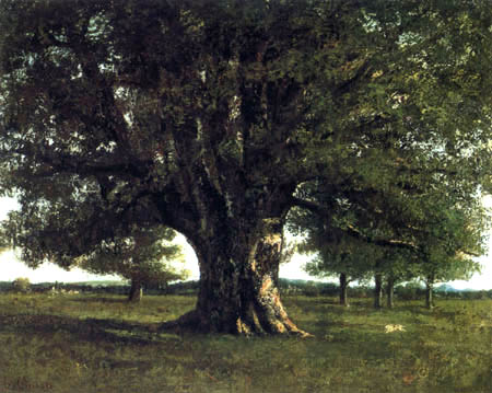 Gustave Courbet - The large oak
