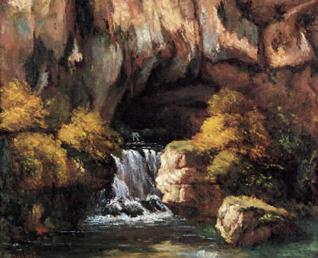 Gustave Courbet - The Font of the Lison