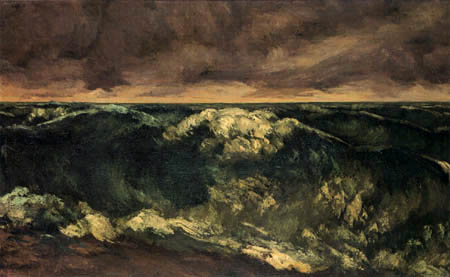 Gustave Courbet - Breakers