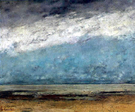 Gustave Courbet - By the seabeach