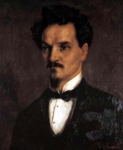 Gustave Courbet - Henri Rochefort