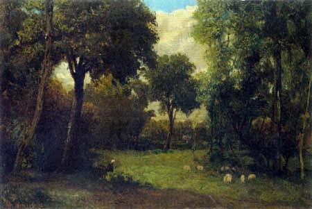 Gustave Courbet - Die Waldlichtung