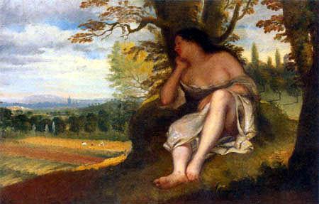 Gustave Courbet - Siesta