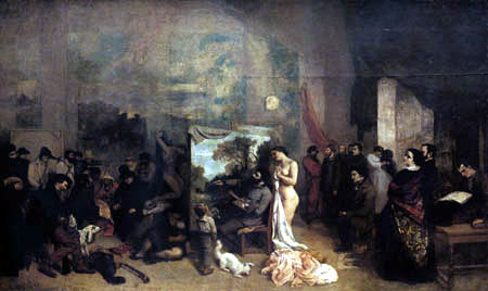 Gustave Courbet - The Studio