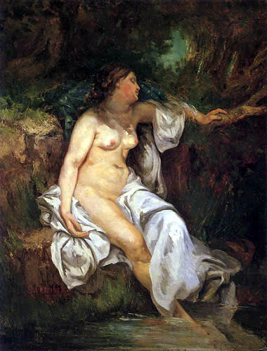 Gustave Courbet - Nude