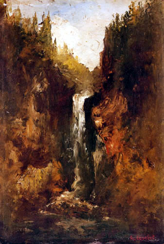 Gustave Courbet - Cascades