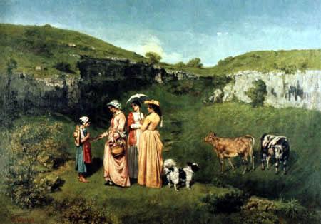 Gustave Courbet - La aumône