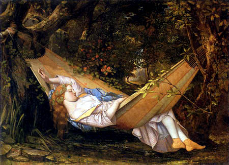 Gustave Courbet - Hammock