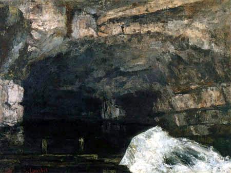 Gustave Courbet - La source de Loue