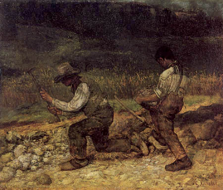 Gustave Courbet - Stonecutter