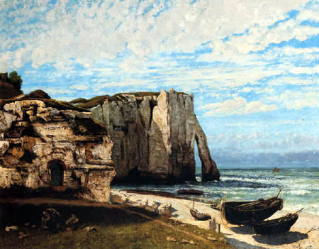 Gustave Courbet - Cliffs of Étretat