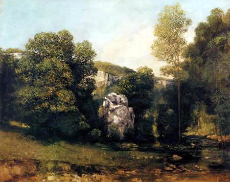 Gustave Courbet - Brassen im Puits-Noir