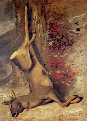 Gustave Courbet - Deer