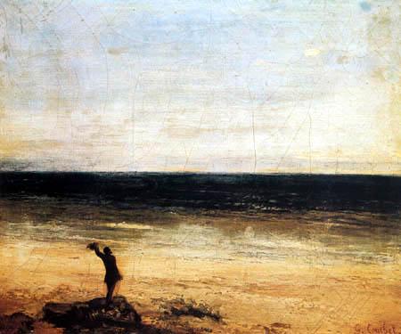 Gustave Courbet - Mediterranean Sea