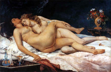 Gustave Courbet - The Sleep