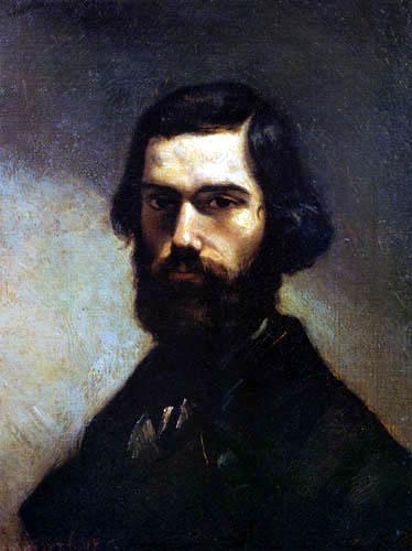Gustave Courbet - Jules Vallès