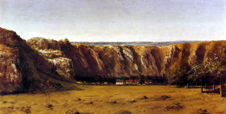 Gustave Courbet - Paysage rocheux