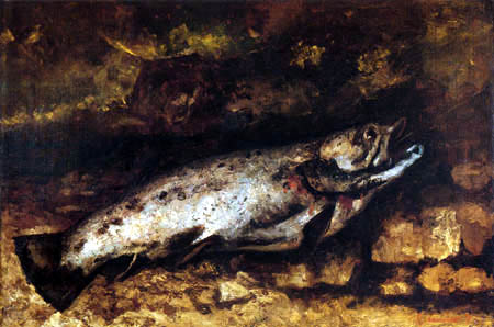 Gustave Courbet - Trout
