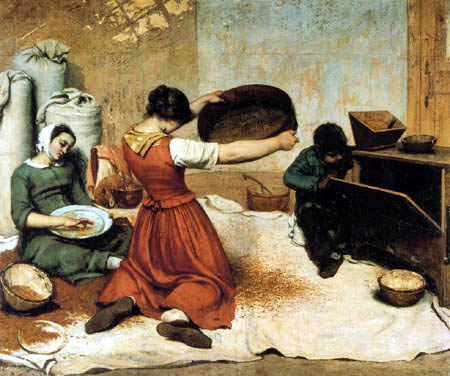 Gustave Courbet - Sieving