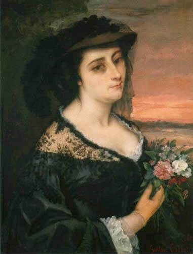 Gustave Courbet - Laure Borreau